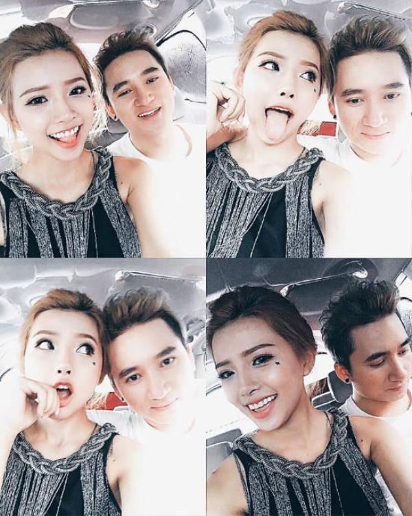Một số hình ảnh hiếm hoi của Phan Mạnh Quỳnh và bạn gái hot girl trên trang cá nhân.
