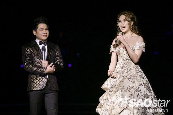 Mỹ Tâm hát nhạc kịch cùng Trọng Tấn.