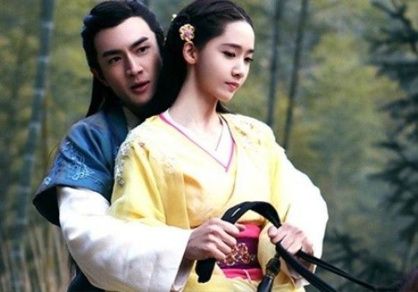 Lâm Canh Tân và Yoona trong phim Võ thần Triệu Tử Long.