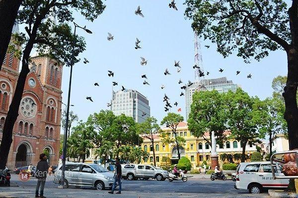 Đô thị tấp nập Sài Gòn.