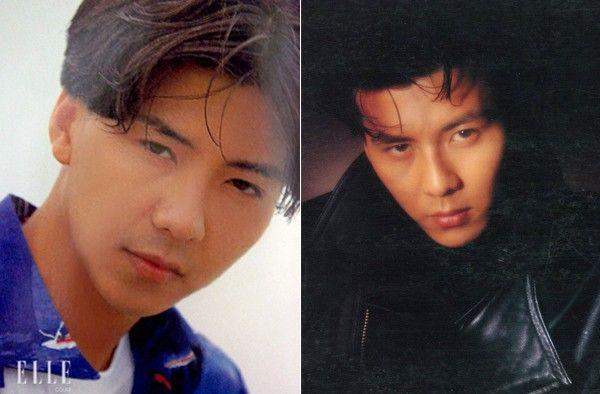 Son Chang Jin và mái tóc lãng tử một thời.