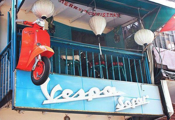 Vespa ở khắp mọi nơi.