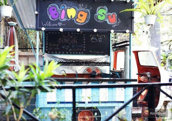 Buổi tối xe sẽ được dùng để bán Bing Su.