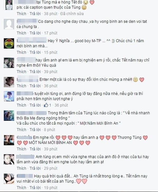 Những Phản hồi tích cực từ phía người nghe nhạc cho sản phẩm xuân mới của chàng ca sĩ gốc Thái Bình.