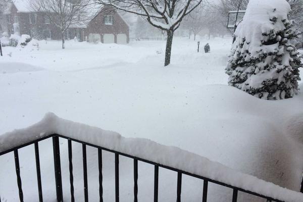9 jonas snow blankets the ground in pennsylvania