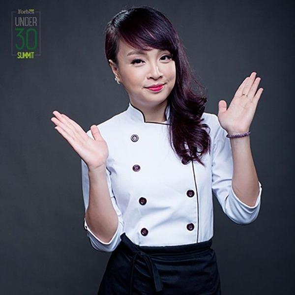 Đầu bếp Hoàng Minh Nhật, quán quân Masterchef 2014, người sáng lập Sáng lập chuỗi bánh mì Minh Nhật.