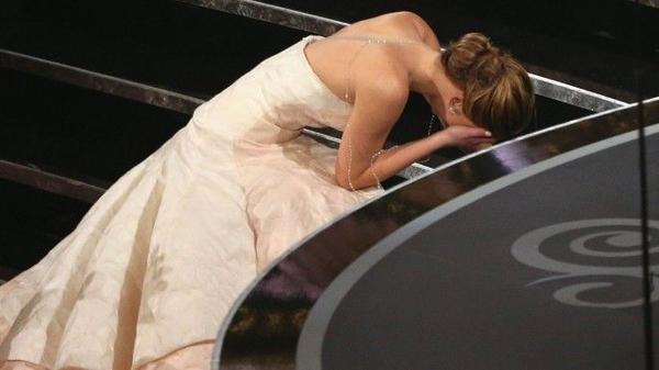 Khoảnh khắc đáng nhớ của Jennifer Lawrence