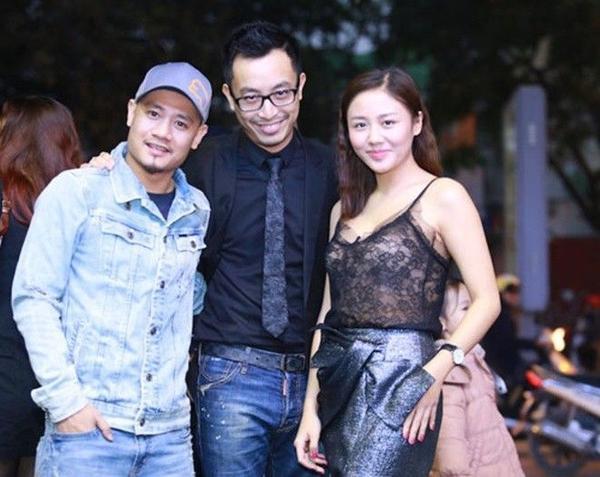 Nhạc sĩ Nguyễn Đức Cường, đạo diễn Triệu Quang Huy và ca sĩ Văn Mai Hương.