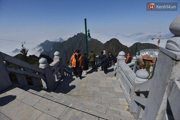 600 bậc thang đều đã được làm nhám để tránh trơn trượt cho du khách.
