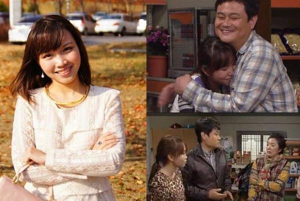 Chân dung nữ diễn viên Thu Hương và một phân cảnh trong phim Hometown Over the Hill.