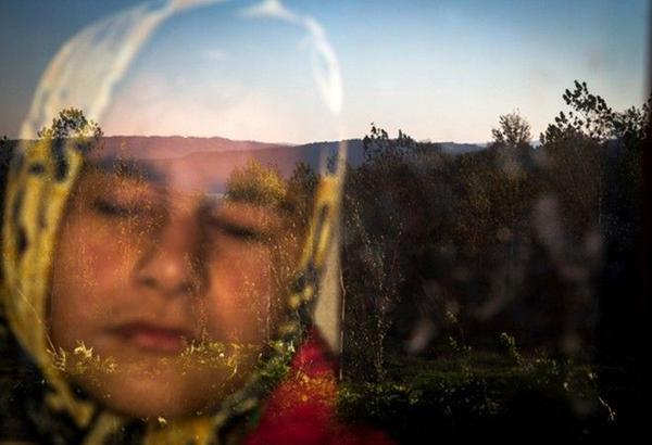 Bức ảnh giành giải Nhì hạng mục Cuộc sống thường ngày của tác giả Zohreh Saberi cho thấy hình ảnh của 1 người phụ nữ bị khiếm thị. Cô Raheleh đang đứng cạnh cửa sổ để cảm nhận sự ấm áp của những tia nắng mặt trời ở Babol, Mazandaran, Iran.