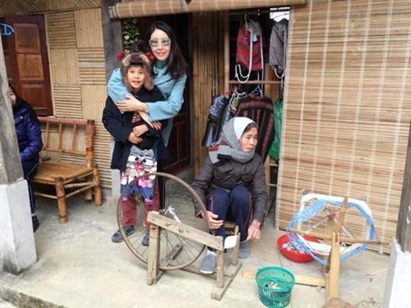 Gia đình người đẹp đã tới bản Lác - Mai Châu - Hòa Bình.