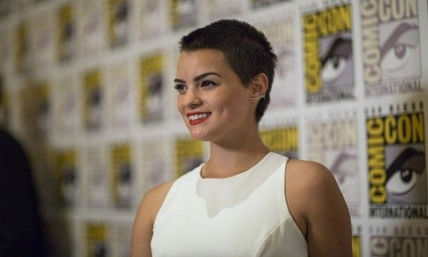 "Cast member Brianna Hildebrand poses at a press line for ""Deadpool"" during the 2015 Comic-Con International Convention in San Diego, California July 11, 2015. REUTERS/Mario Anzuoni - RTX1K1E9"