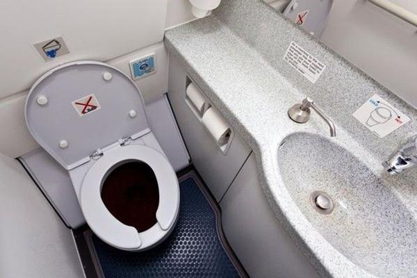 Toilet không phải là nơi bẩn nhất trên máy bay như nhiều người vẫn nghĩ.