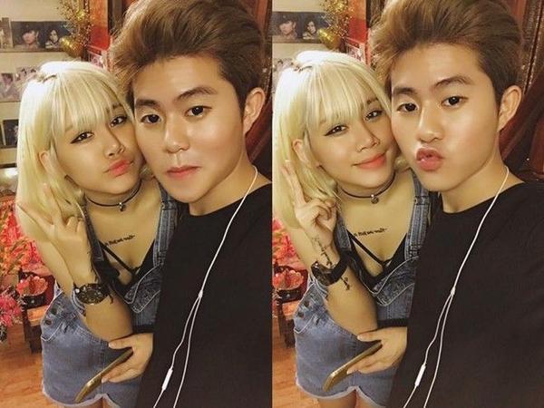 Là 2 chị em thân thiết ở ngoài đời, tuy nhên 'Bờ vai anh là của riêng em' lại là sản phẩm âm nhạc chung đầu tiên của Yến Lê và Fame Chí Thành.