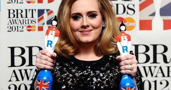 Adele đã từng nhận không ít giải thưởng Brit trước đây.