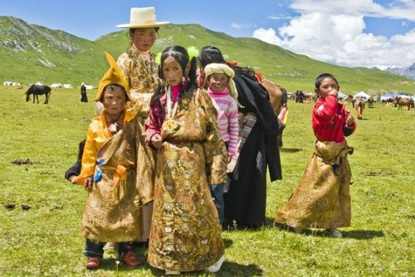 Người dân Tây Tạng.