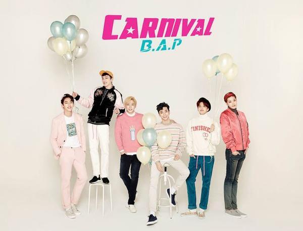 Sau những tranh chấp kiện tụng kéo dài với công ty quản lý, B.A.P vừa có sự trở lại ấn tượng với album Carnival.