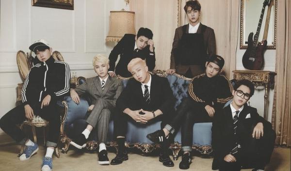 Các chàng trai BTS 'chốt sổ' ở vị trí thứ 10.