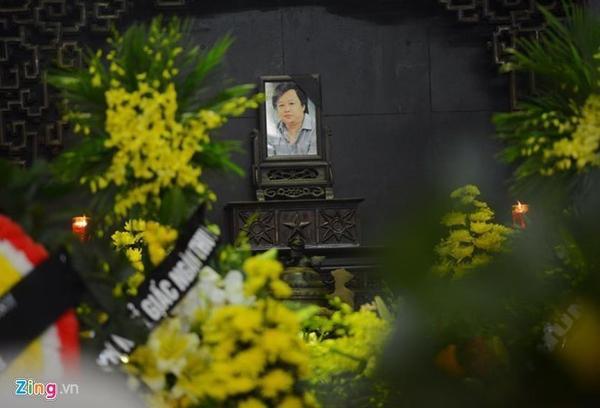 Lễ tang nhạc sĩ Lương Minh diễn ra vào sáng 4/3 tại Nhà tang lễ Bộ Quốc Phòng, Hà Nội. Ảnh: Tuấn Mark