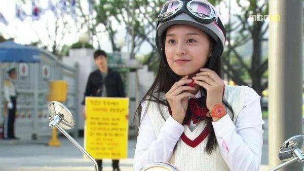 "Kim Ji Won trong phim ""High Kick"""