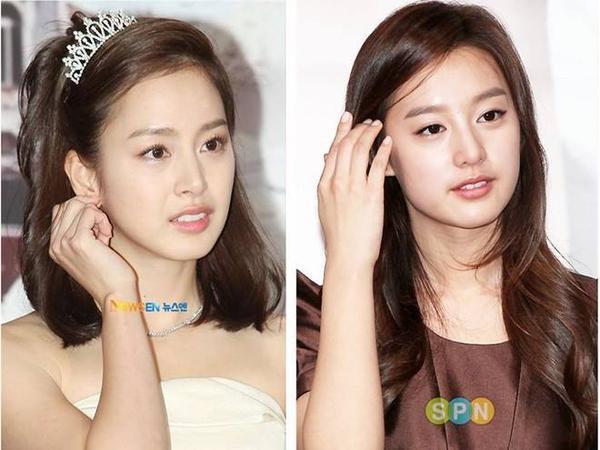 Ngoại hìnhhao hao nhau của hai nữ diễn viên họ Kim