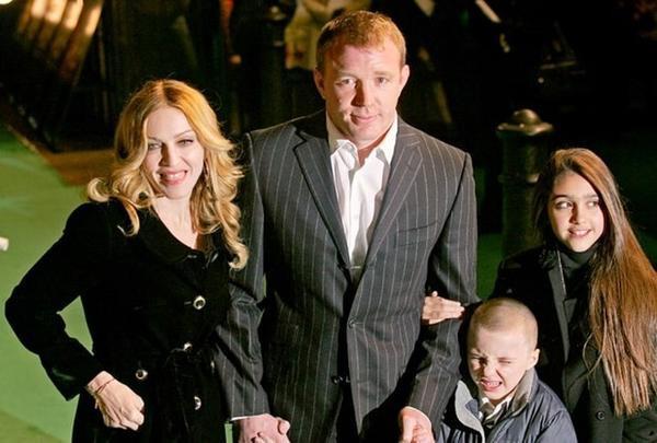 Gia đình Madonna thời còn mặn nồng