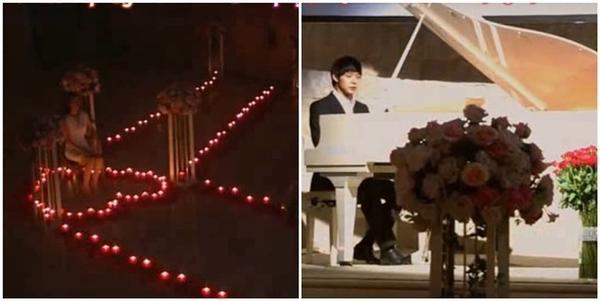 Anh chàng Song Yoo Hyun đàn hát tặng Jang Mi Ri trong Miss Ripley khiến cô không khỏi cảm động rơi lệ.