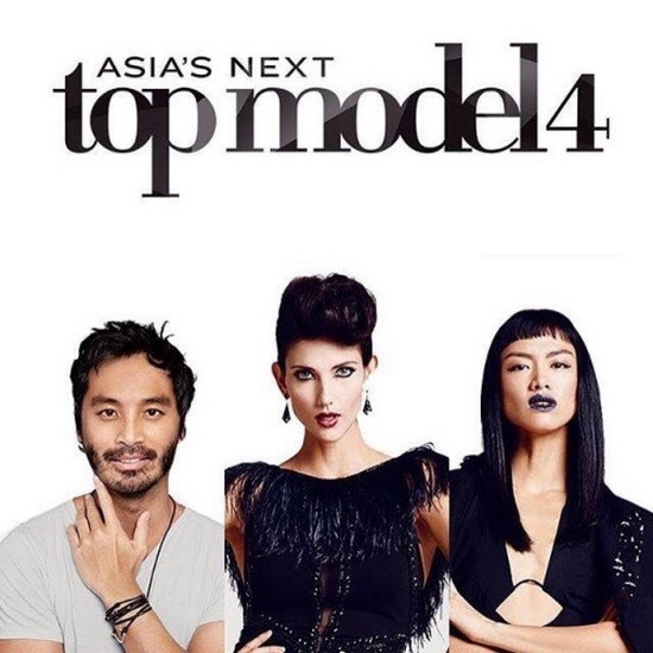 Và bộ 3 quyền lực mới của Asia's Next Top Model 4: Yu Tsai - Cindy Siriya - Kelly Tandiono