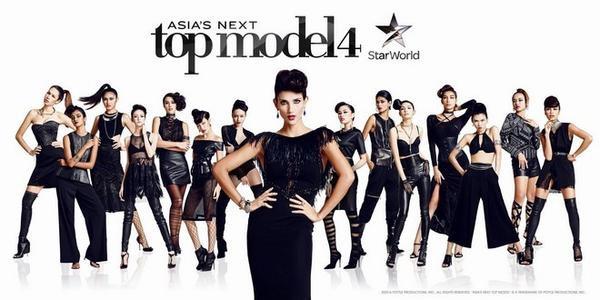 14 thí sinh của Asia's Next Top Model mùa 4
