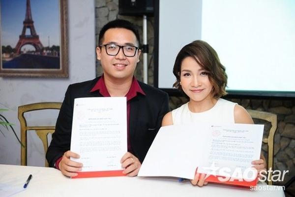 Cũng trong buổi họp, Mỹ Linh lần đầu ra mắt e-kop mới sẽ đồng hành cùng cô trong những dự án cộng đồng tiếp theo.
