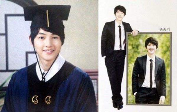 Ảnh tốt nghiệp cấp 3 của Song Joong Ki