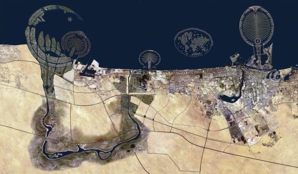 Dubai từ trên cao sẽ trông như thế này một ngày không xa.