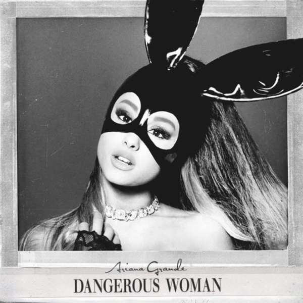 Hình ảnh bìa chính thức của album 'Dangerous Woman'