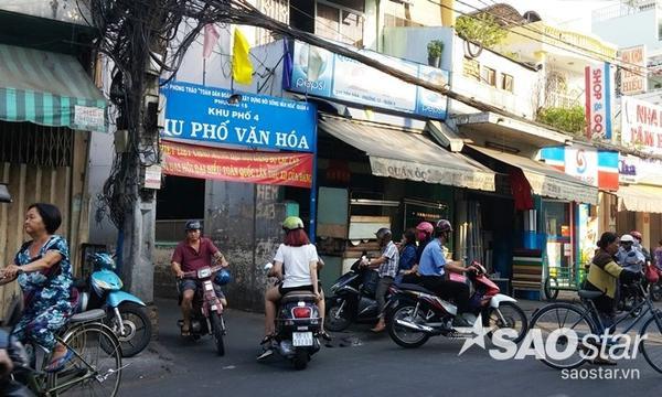 Khu vực hẻm số 243 Tôn Đản, nơi bé Nam bị hai thanh niên bắt cóc.