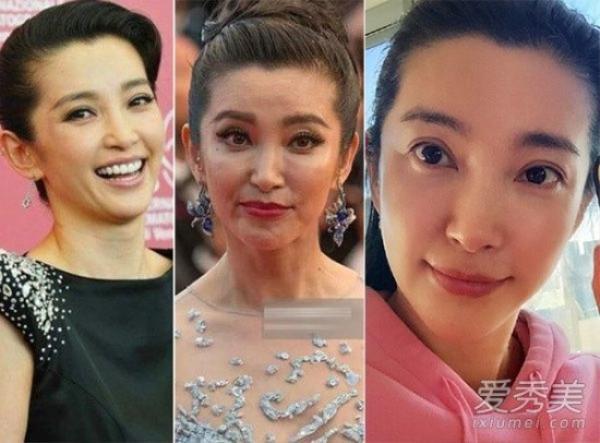 Lý Băng Băng không thể khai gian được tuổi khi lộ ảnh thật. Nữ diễn viên đã ngoài từ tuần và không thể tránh chuyện lão hóa.