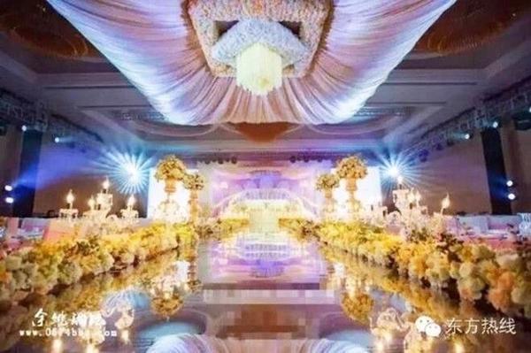 Đám cưới xa hoa được tổ chức vào ngày 7/3.