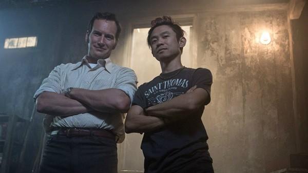 Patrick Wilson và đạo diễn James Wan.