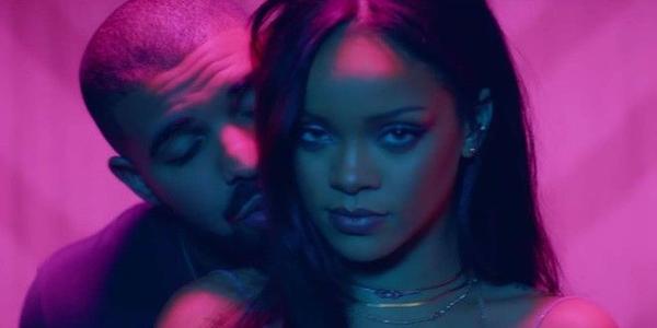 Rihanna cùng Drake tình tứ trong MV Work.