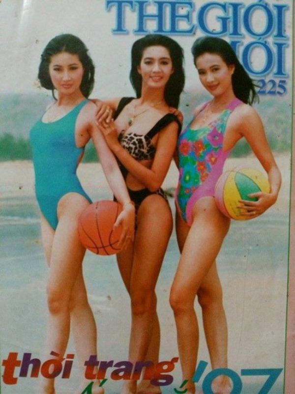 Hình ảnh Minh Anh trên bìa tạp chí.
