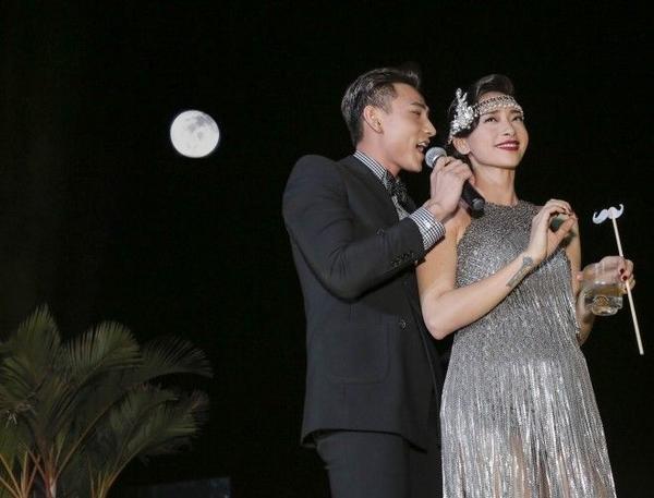 Isaac hát tặng ca khúc Ngô Thanh Vân yêu thích .