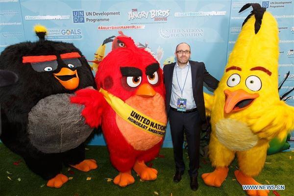 """Các đồng bọn trong Angry Bird cũng đến """"chia vui"""" chúc mừng nhiệm vụ mới của thủ lĩnh."""
