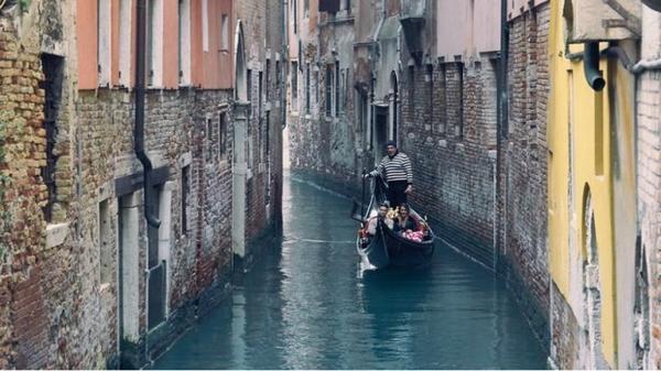 Thành phố Venice - mang vẻ đẹp bình yên, tĩnh lặng.