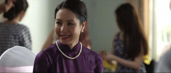 Hoa hậu nổi tiếng một thời Đoàn Việt Hà trở lại với nét đẹp phúc hậu.