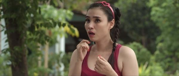 """Hoa hậu Mai Hải Anh """"bựa"""" từ tạo hình cho đến lối diễn """"lố""""."""