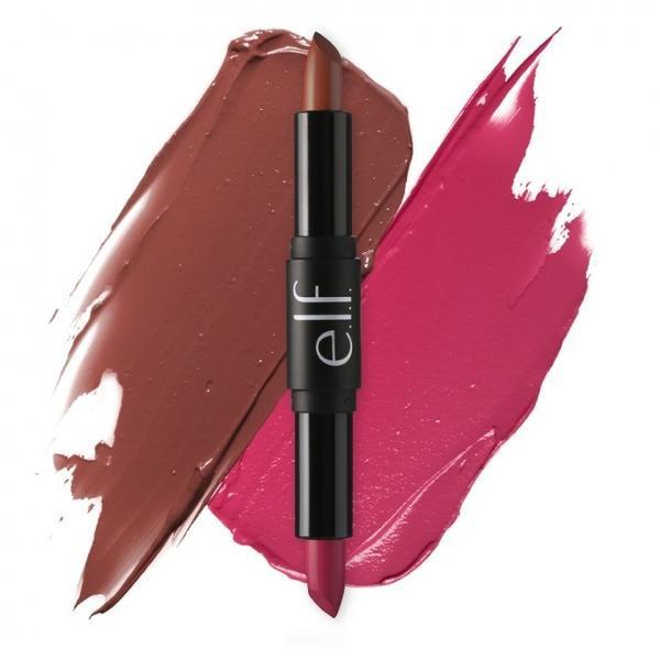 Lipstick 2 in 1 với 2 tông màu đỏ hồng quyến rũ và chocalate cá tính, giá khoản 270.000 vnd.