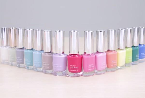 Có tất cả 12 màu sắc cho các nàng tha hồ thử nghiệm.