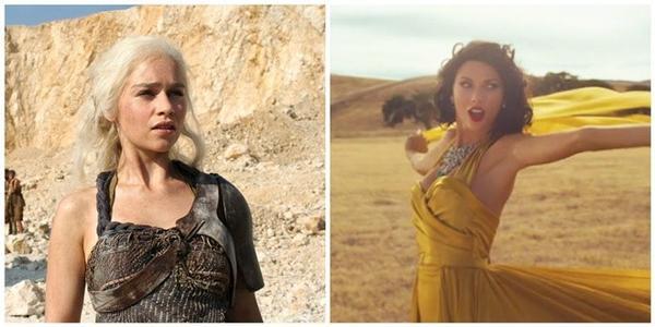 Mẹ Rồng và Taylor trên sa mạc.