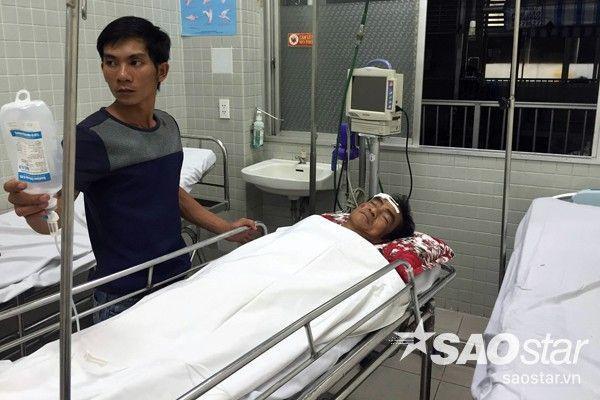 Ông Huỳnh Văn Nén đang điều trị tại bệnh viện Chợ Rẫy.
