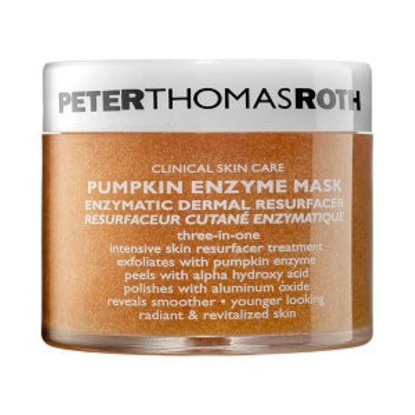 Peter Thomas Roth Pumpkin Enzyme Mask giúp phục hồi da hư tổn, sạm nám.